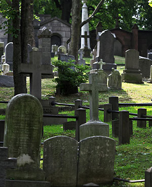 Гробни места и урнови клетки