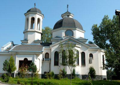 храм Св.Наум Охридски /езерото в ж.к.Дружба/