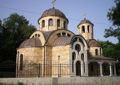 храм Възнесение Господне (срещу Румънското посолство)