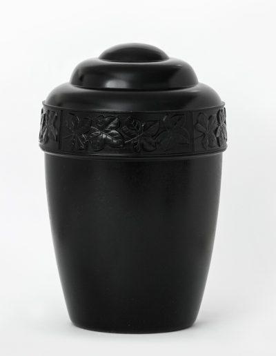 PVC черна урна